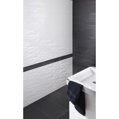 Carrelage murs et sols CONCEPT aspect ardoise 30,1 x 60,1 cm