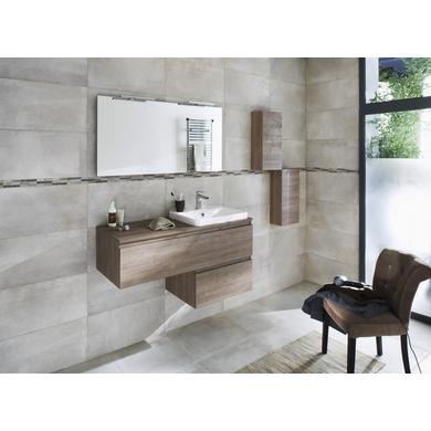 Sous Vasque Avec Plan Résine L Cm EVASION Salle De Bains - Plan sous vasque salle de bain