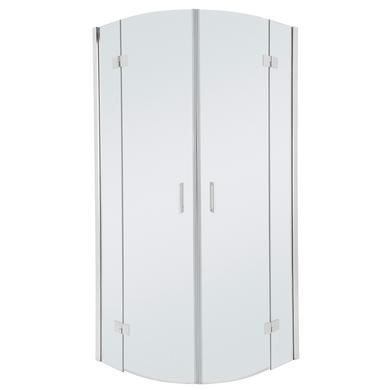 acc s d 39 angle par portes pivotantes arrondis palace salle de bains. Black Bedroom Furniture Sets. Home Design Ideas