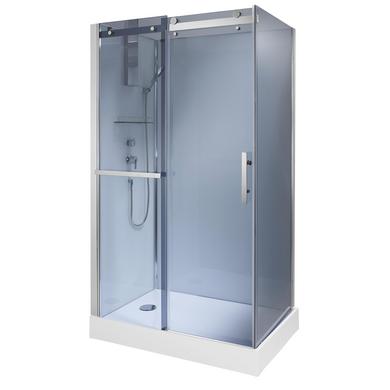 Cabine int grale avec robinetterie fidji salle de bains for Cabine de douche lapeyre