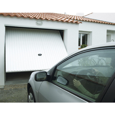 Porte de garage pro access basculante d bordante ext rieur for Tbs pro porte de garage