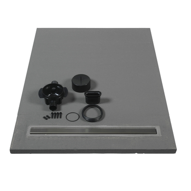 receveur lineal vidage horizontal salle de bains. Black Bedroom Furniture Sets. Home Design Ideas