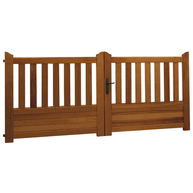 portail battant bois landes ext rieur. Black Bedroom Furniture Sets. Home Design Ideas
