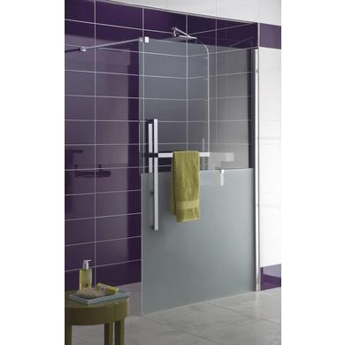 Paroi de douche grand espace version droite bliss salle de bains - Paroi douche lapeyre ...