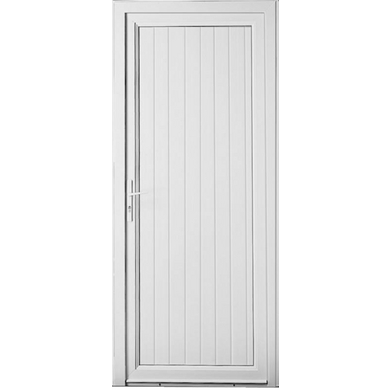 Porte de service ol ron pvc portes for Porte cellier