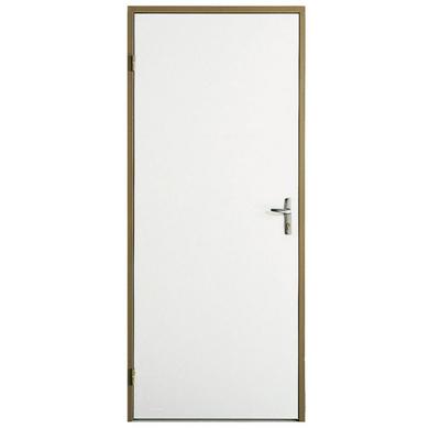 Porte de service s curit m tallique renforc e portes - Porte interieure isolante ...