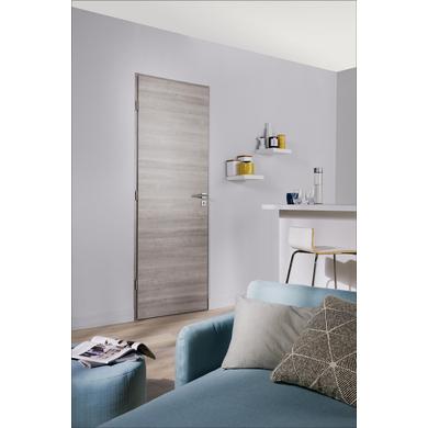 Bloc porte variation gris flott phonique structur portes - Lapeyre porte isophonique ...