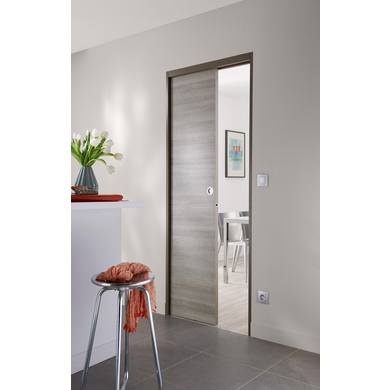 Porte coulissante variation portes - Dimension porte coulissante interieur ...