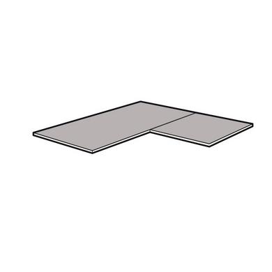 dressing espace tablette d 39 angle 2 parties p 50 cm rangements. Black Bedroom Furniture Sets. Home Design Ideas