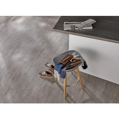 sol stratifi factory dalle silence gris metal stone sols murs. Black Bedroom Furniture Sets. Home Design Ideas