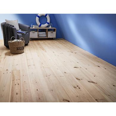 parquet massif capbreton pin brut sols murs. Black Bedroom Furniture Sets. Home Design Ideas