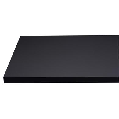 plan de travail stratifi velvet noir 38 mm cuisine. Black Bedroom Furniture Sets. Home Design Ideas