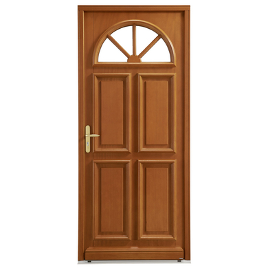 porte d 39 entr e romagne bois exotique portes. Black Bedroom Furniture Sets. Home Design Ideas