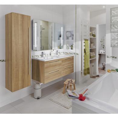 ensemble meuble de salle de bains plan r sine avec robinetterie cm fokus salle de bains. Black Bedroom Furniture Sets. Home Design Ideas
