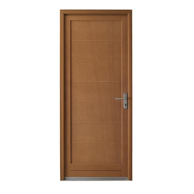 Porte de service valen ay bois exotique portes - Porte en bois prix ...
