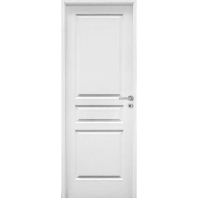 Bloc porte postform droite parement vein bois portes for Porte interieur 83
