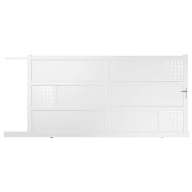 portail coulissant aluminium lugano moteur int gr ext rieur. Black Bedroom Furniture Sets. Home Design Ideas