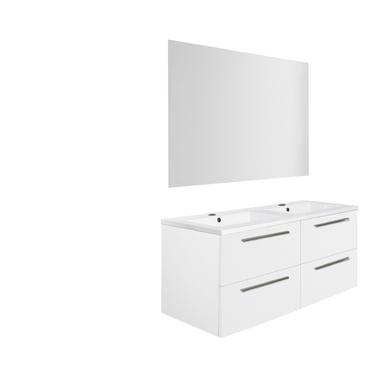 ensemble meuble de salle de bains plan r sine sans robinetterie cm fokus salle de bains. Black Bedroom Furniture Sets. Home Design Ideas