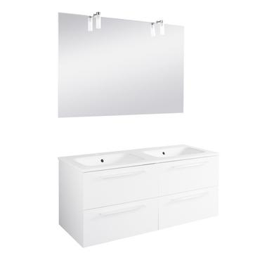 Ensemble meuble de salle de bains plan verre sans for Catalogue lapeyre salle de bain pdf