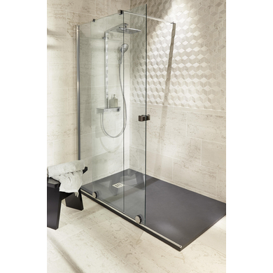 porte de douche coulissante maxxi gauche salle de bains. Black Bedroom Furniture Sets. Home Design Ideas
