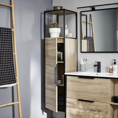 Colonne metal salle de bains lapeyre - Colonne salle de bain lapeyre ...