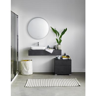 Meuble Sous Vasque Brut Avec Plan Pour Vasque A Poser Salle De Bains Lapeyre