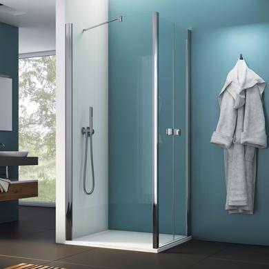 paroi de retour pour porte battante opure salle de bains. Black Bedroom Furniture Sets. Home Design Ideas