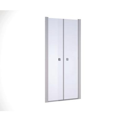 Porte de douche battante opure salle de bains - Porte battante douche ...