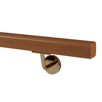 Support de main courante en acier dor visser escaliers - Main courante bois lapeyre ...