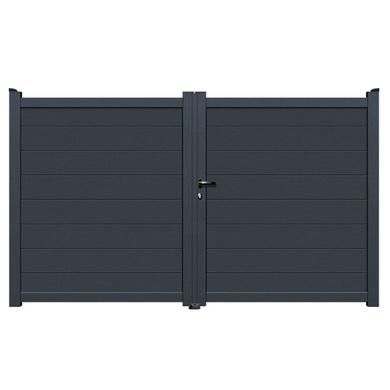 lapeyre motorisation portail bien choisir un portail. Black Bedroom Furniture Sets. Home Design Ideas