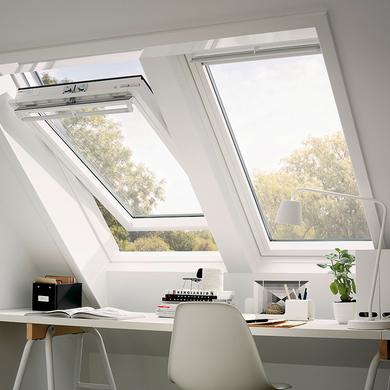 velux 114x118 tout confort fen tre de toit velux tout confort ggl mk04 l78xh98cm velux gpl. Black Bedroom Furniture Sets. Home Design Ideas