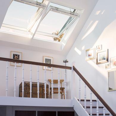 Velux tout confort motoris solaire fen tres for Lapeyre fenetre de toit
