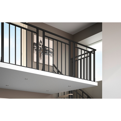 balustrade chelle spiral 180 gain de place escaliers. Black Bedroom Furniture Sets. Home Design Ideas