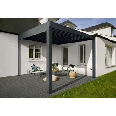 pergola aluminium fira ext rieur. Black Bedroom Furniture Sets. Home Design Ideas