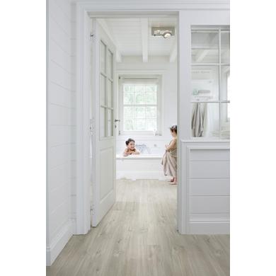 Sol vinyle livyn planches artisanales grises sols murs - Sol vinyle a clipser ...