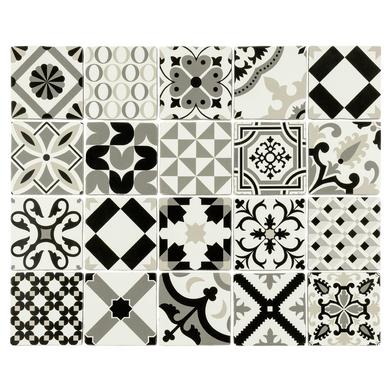 carrelage d cor mix fable 13 8 x 13 8 cm sols murs. Black Bedroom Furniture Sets. Home Design Ideas