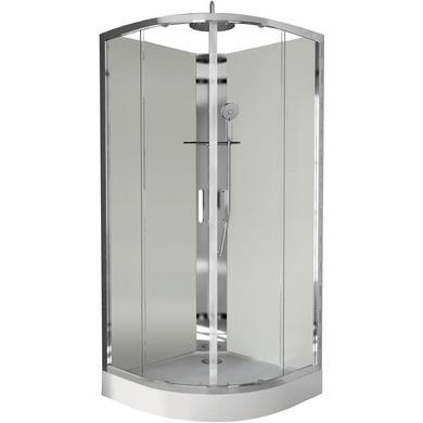 Cabine de douche ocea angle salle de bains for Cabine de douche lapeyre