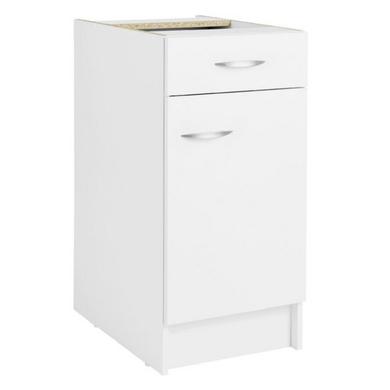 meuble de cuisine bas 1 porte 1 tiroir et 1 tablette cuisine