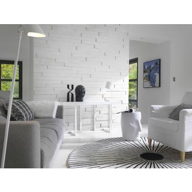 Parement Relief Blanc Sols Murs