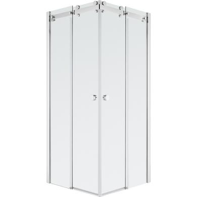 Acc s d 39 angle par portes coulissantes carr es palace salle de bains - Lapeyre porte douche ...