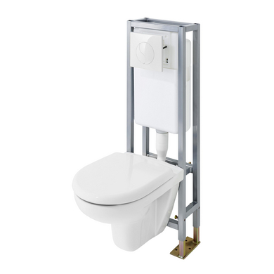 Pack wc suspendu univers sol salle de bains for Photo wc suspendu