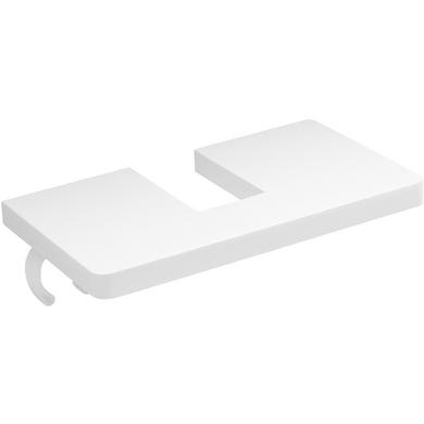 tablette de rangement util pour colonne salle de bains. Black Bedroom Furniture Sets. Home Design Ideas