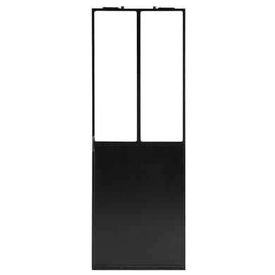 Verriere D Atelier Fixe Noire Portes