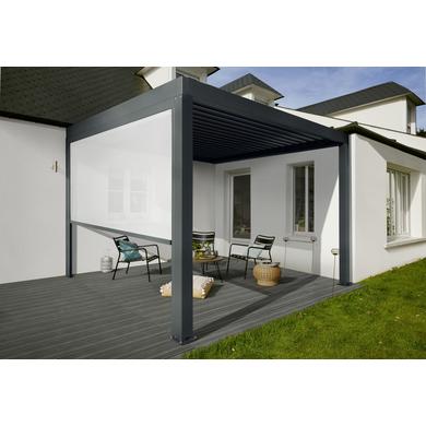 Store lat ral pour pergola fira ext rieur - Toiles de stores exterieurs pour terrasses ...