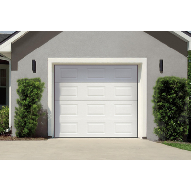 Porte de garage columbia sectionnelle en kit manuelle for Porte de garage sectionnelle 250 x 200