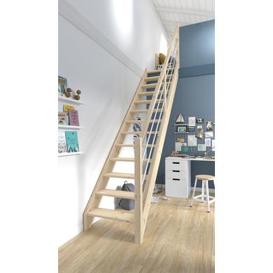 escalier ludo escaliers lapeyre. Black Bedroom Furniture Sets. Home Design Ideas