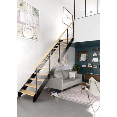 rampes et balustrades escaliers lapeyre. Black Bedroom Furniture Sets. Home Design Ideas