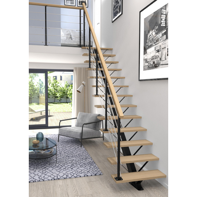 escalier city escaliers lapeyre. Black Bedroom Furniture Sets. Home Design Ideas