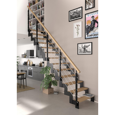 escalier duplex escaliers lapeyre. Black Bedroom Furniture Sets. Home Design Ideas