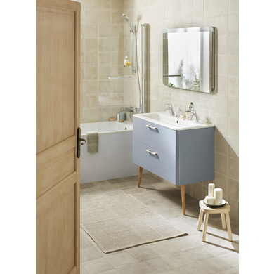 Poign es pour meuble de salle de bains edda salle de bains lapeyre - Meuble salle de bain lapeyre ...